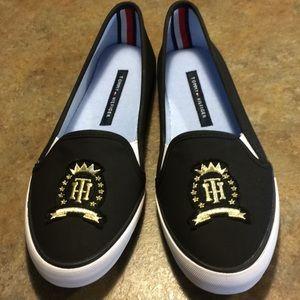 NWOT Tommy Hilfiger slip on sneakers!